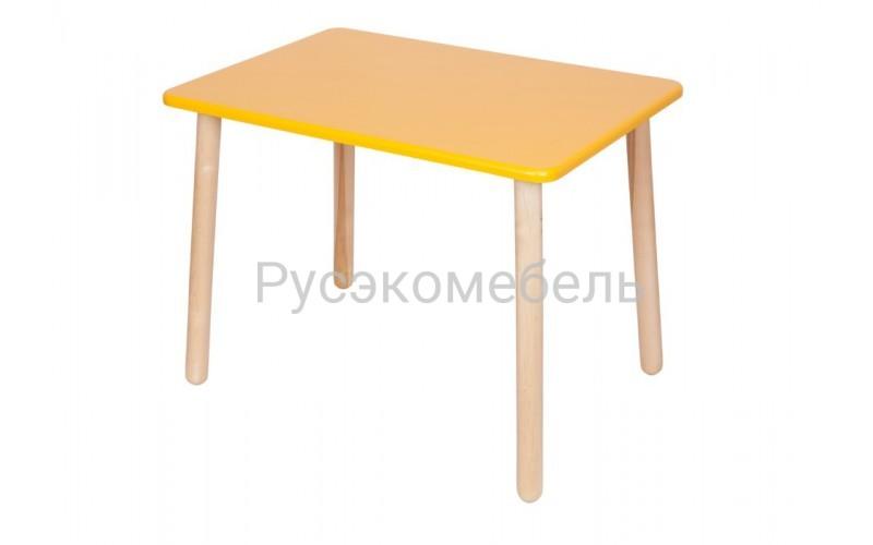 """Стол серии """"Эко"""" 70*50 см. желтый"""