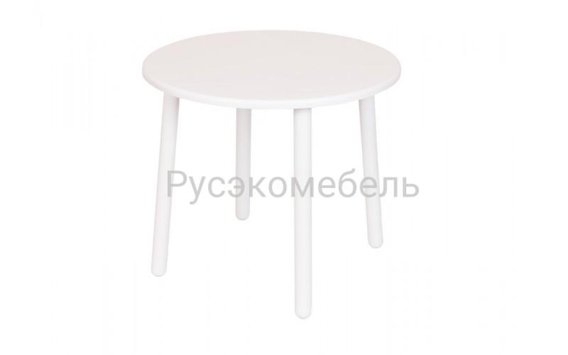 Детский круглый Стол Eco Star (Белый)