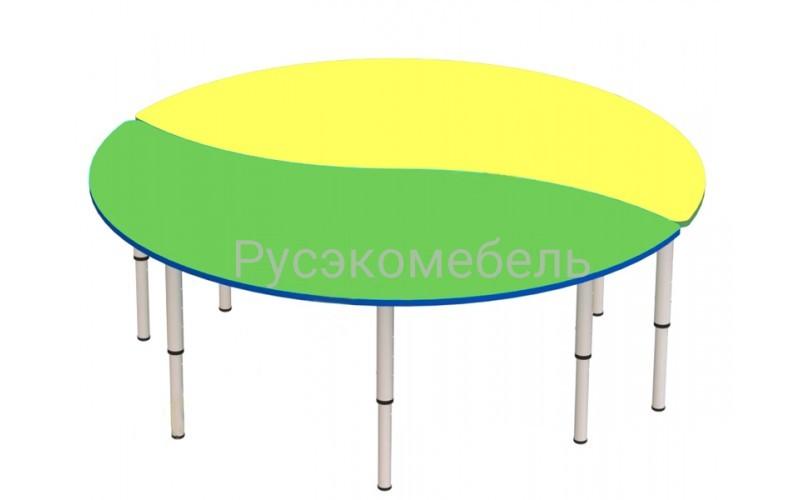 Стол лепесток 2 (2 стола) МДФ срок 7 дней