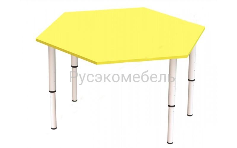 Стол шестигранник 100*100 см
