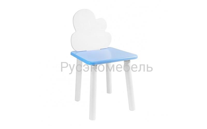 Детский квадратный стул Eco Cloud (голубой)