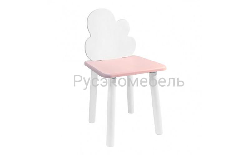 Детский квадратный стул Eco Cloud (нежно-розовый)
