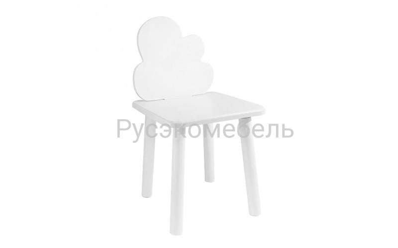 Детский квадратный стул Eco Cloud (белый)