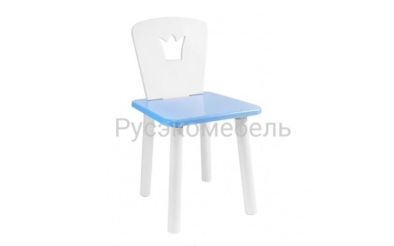 Детский квадратный стул Eco Crown (голубой)