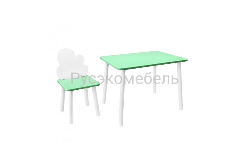 Набор детской мебели Eco Cloud 2 (нежно-зеленый)