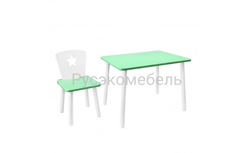 Набор детской мебели Eco Star (нежно зеленый)