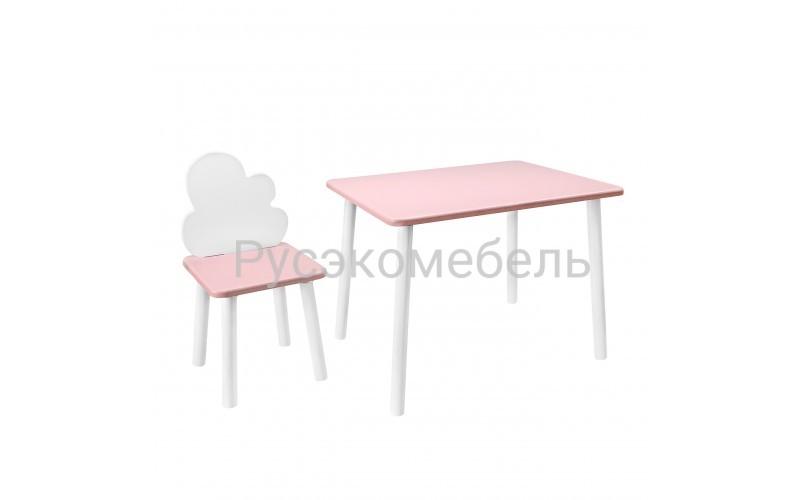 Набор детской мебели Eco Cloud 2 (нежно-розовый)