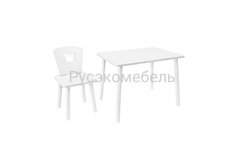 Набор детской мебели Eco Crown (белый)