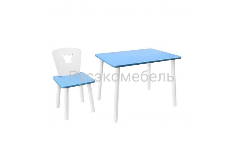 Набор детской мебели Eco Crown (Голубой)