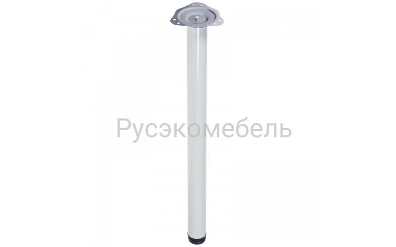 Опоры для стола 710*60 белые, съемные ножки с регулировкой.