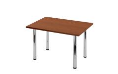 Опоры для стола 710*60 хром, съемные ножки с регулировкой ( 4 шт.)