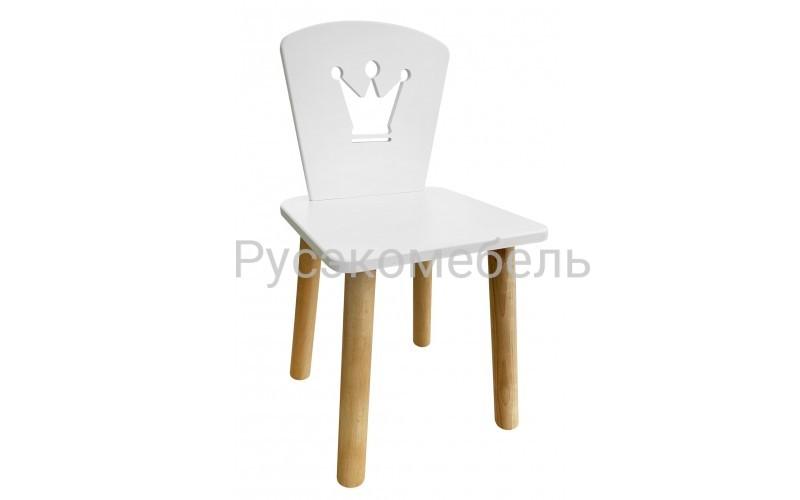 Детский стул Princes белого цвета