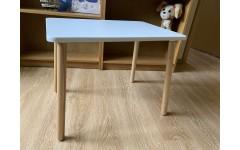 Детский белый стол  70*50