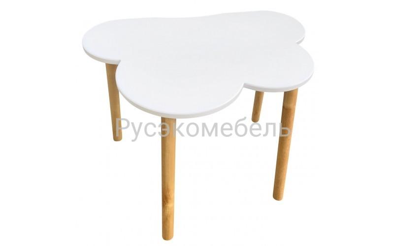 Детский стол Eco Cloud, серия Scandi, белый цвет