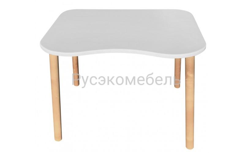 Детский стол  Ergonomic, серия Scandi, белого цвета