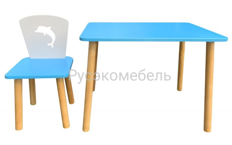 Детский набор мебели Дельфин