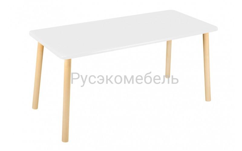 Стол прямоугольный 110*50 для двоих белый