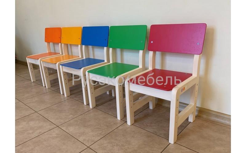 Стул регулируемый для детских садов (зеленый)