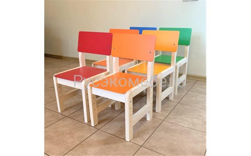 Стул регулируемый для детских садов (оранж)