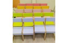 Стул регулируемый для детского сада 2-3 рост. группа