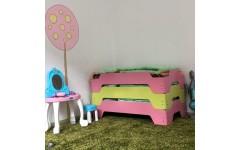 Кровать складируемая для детского сада