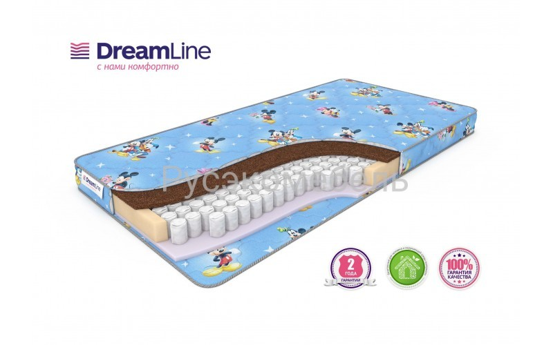 Детские матрасы Baby Sleep Dream TFK 70х140 см