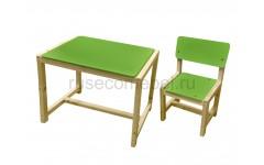 """Набор мебели ( детский стол + стул) регулируемый """"Eco Pine"""" №1"""