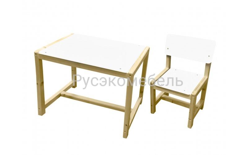 """Набор мебели ( детский стол + стул) регулируемый """"Eco Pine"""" №3"""