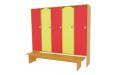 Шкаф для детского сада 3 секции