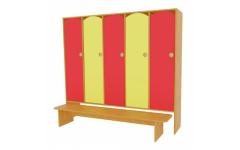 Шкаф для одежды 3-х секции