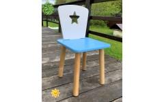 Детский стул  Звездочка белый